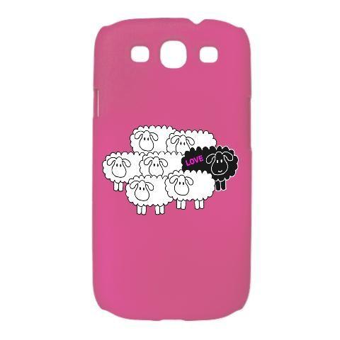 Black Sheep (Love) Samsung S3 Case $30 http://www.cafepress.com/1111now.1155674582