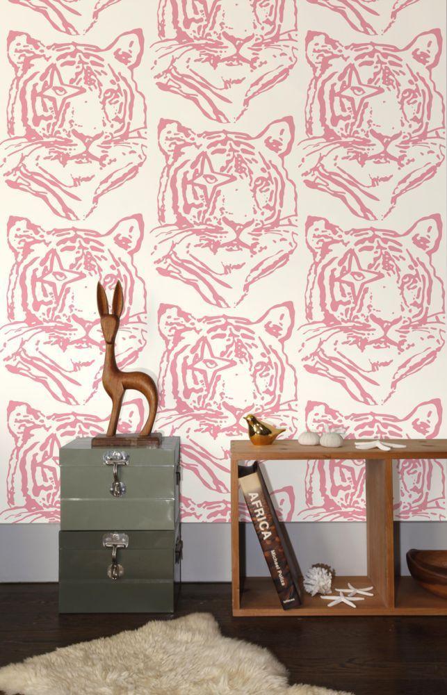 Star Tiger Wallpaper - Aimee Wilder - domino.com