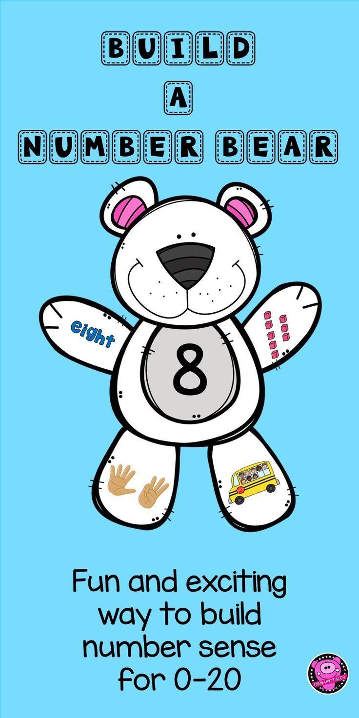 Number Sense to 20 Kindergarten Math Activities | TpT Math Lessons ...