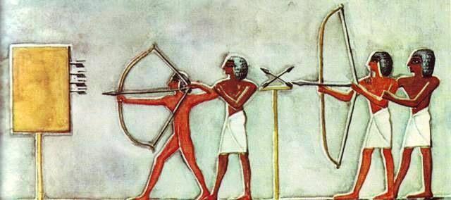 Ancient Egyptian Archery Instruction Ancient Egyptian Art