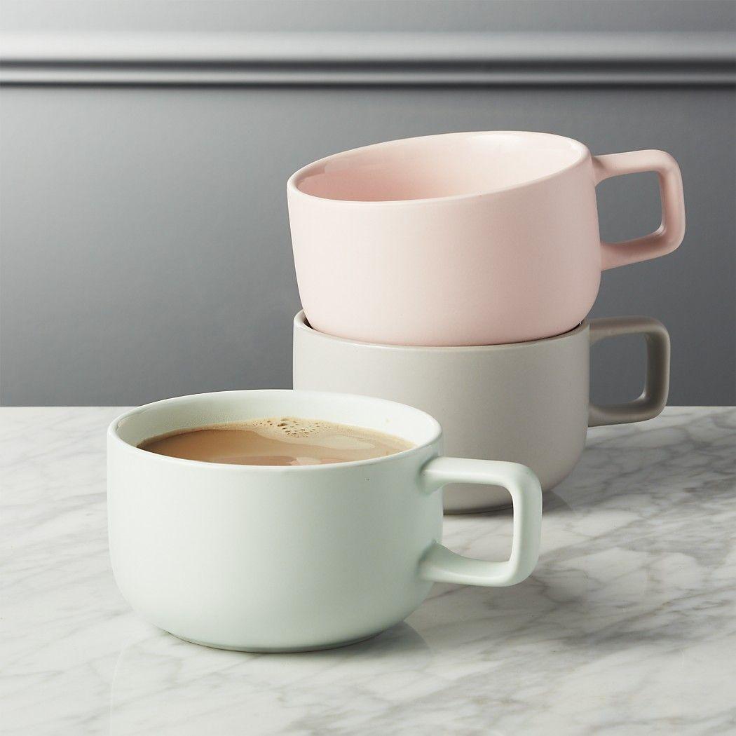 major large matte pink mug Large coffee mugs, Unique