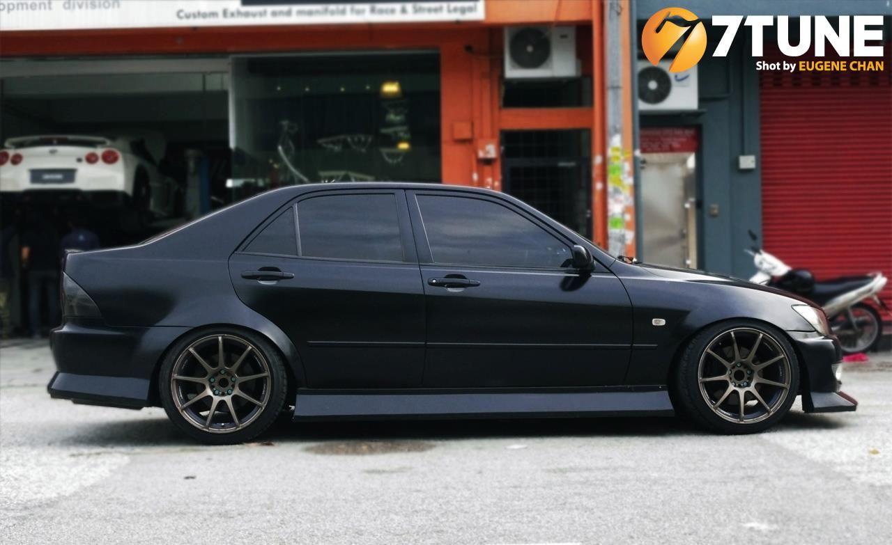 Black Amp Blacked Out Toyota Altezza Lexus Is200 Via