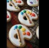 Paint Cookies