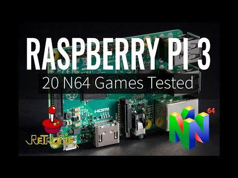 raspberry pi emulator nintendo 64