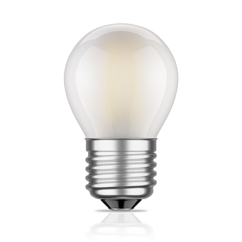 E27 Led Lampe Filament Matt G45 4w 34w Warm Weiss 380lm A Fur Innen Und Aussen Von Ledscom De Light Fixtures Light Bulb Light