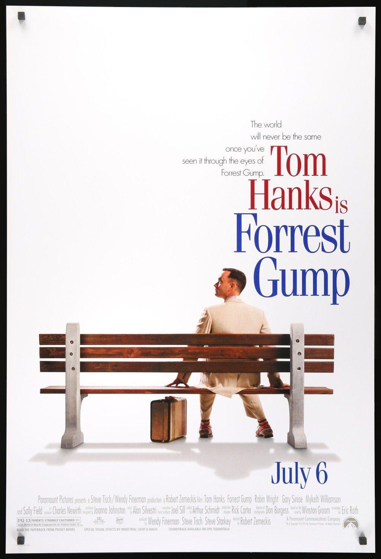 Forrest Gump 1994 Iconic Movie Posters Forrest Gump Movie Forrest Gump