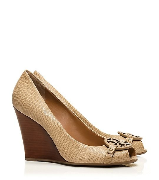 172bb0b4f08 Tory Burch MINI MILLER OPEN-TOE WEDGE - perfect peep toe wedges ...