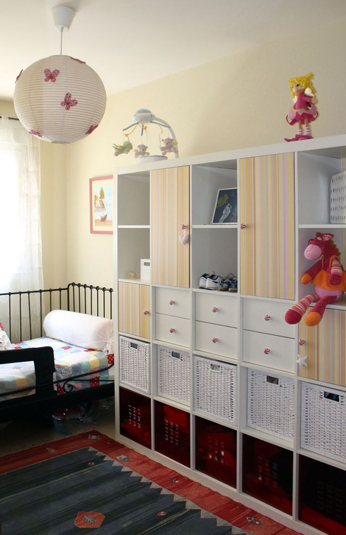 C mo convertir una estanter a expedit en un armario mi ll v ll n espacios armarios - Como cambiar de look en casa ...