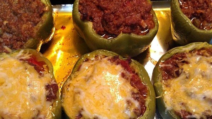 Baked Stuffed Peppers Recipe Stuffed Peppers Recipes Baked Stuffed Peppers