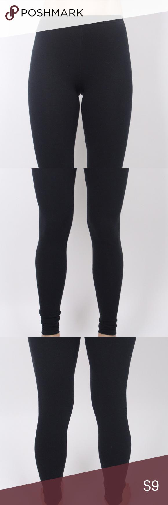 Black ankle length leggings Super comfy, black, form fitting, ankle length leggings Pants Leggings