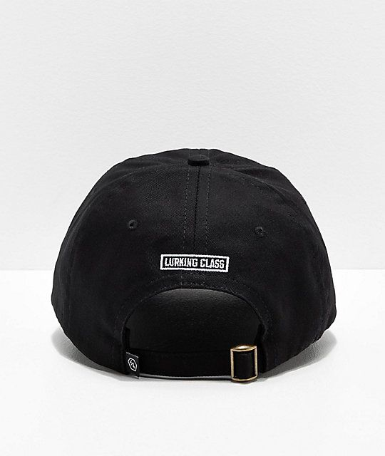 a9aa19fd Lurking Class by Sketchy Tank Logo Black Strapback Hat in 2019 ...