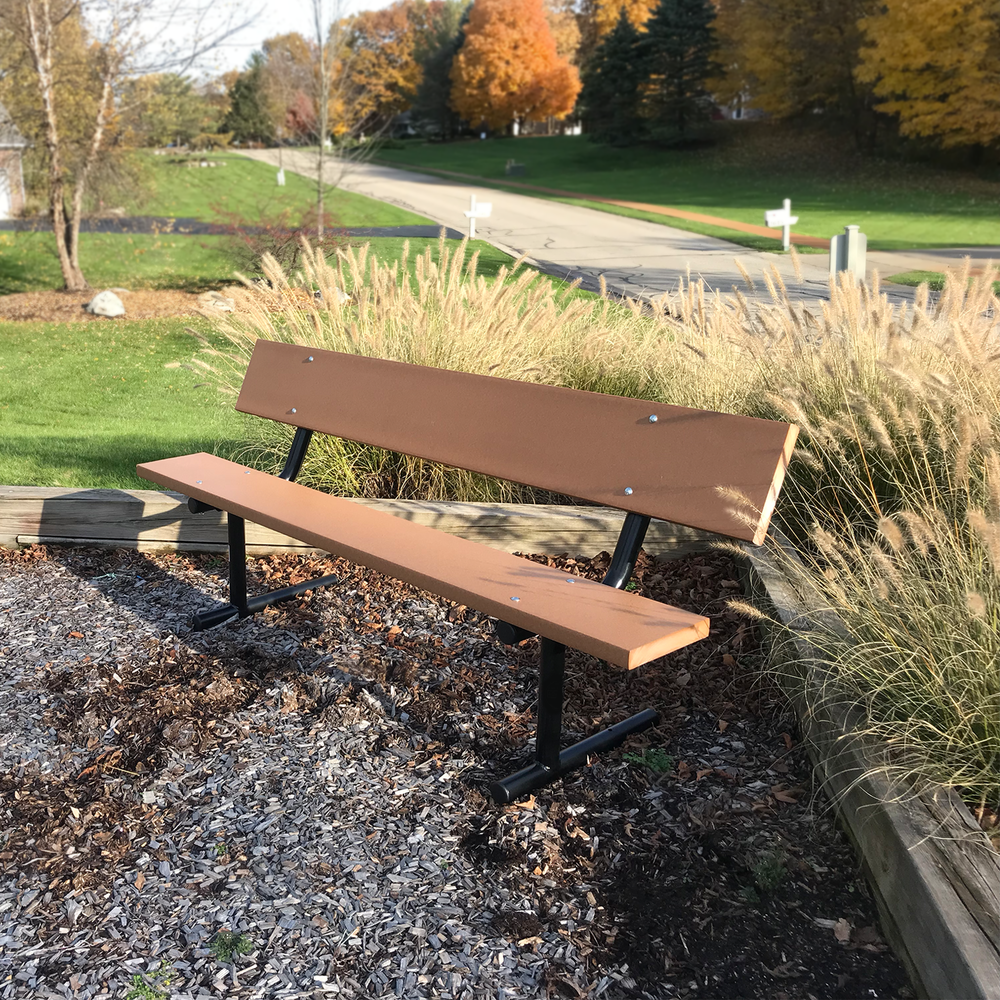 Cool 6 Recycled Plastic Bench Leisure Park Bench In 2019 Customarchery Wood Chair Design Ideas Customarcherynet