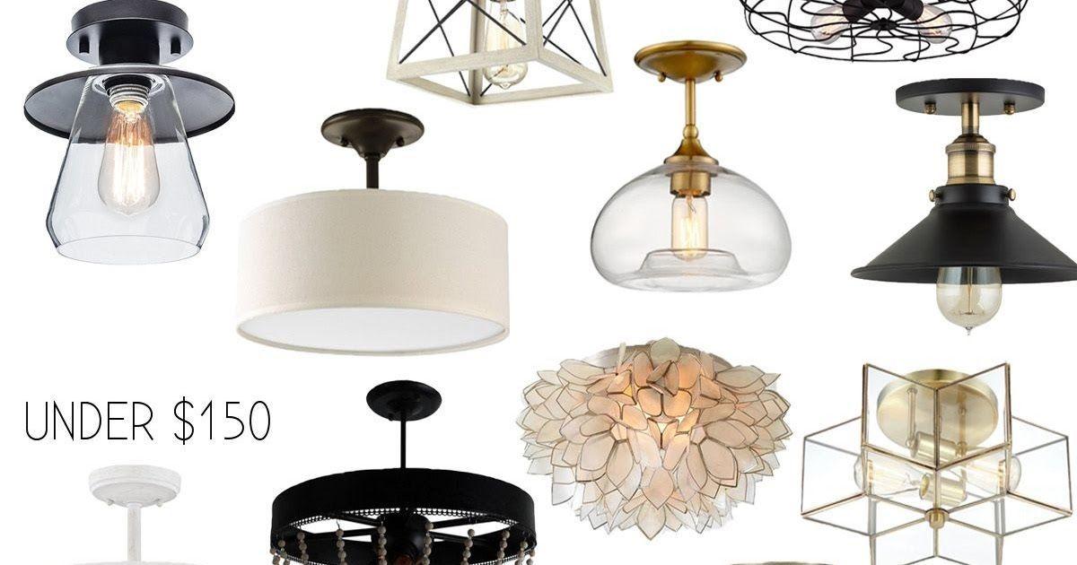 Pendant light for kitchen island Industrial ceiling lighting Flush mount vaulted