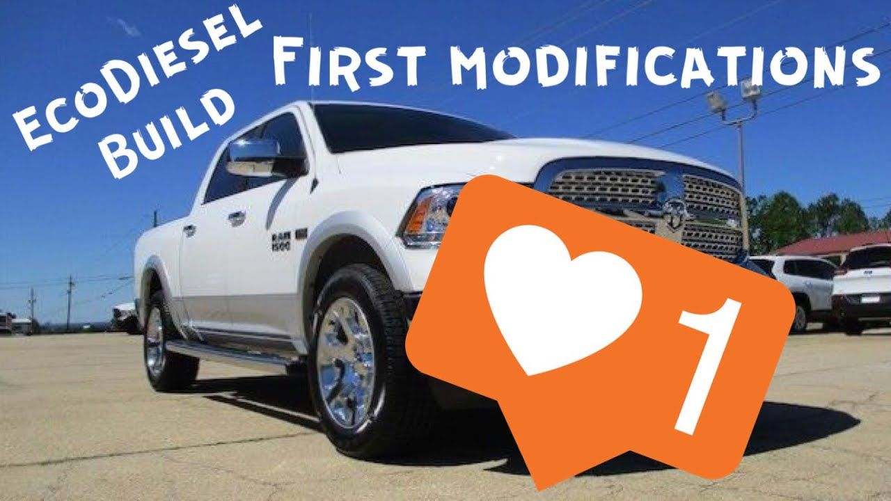 Ram 1500 EcoDiesel Build FIRST MODIFICATIONS! Edge Insight