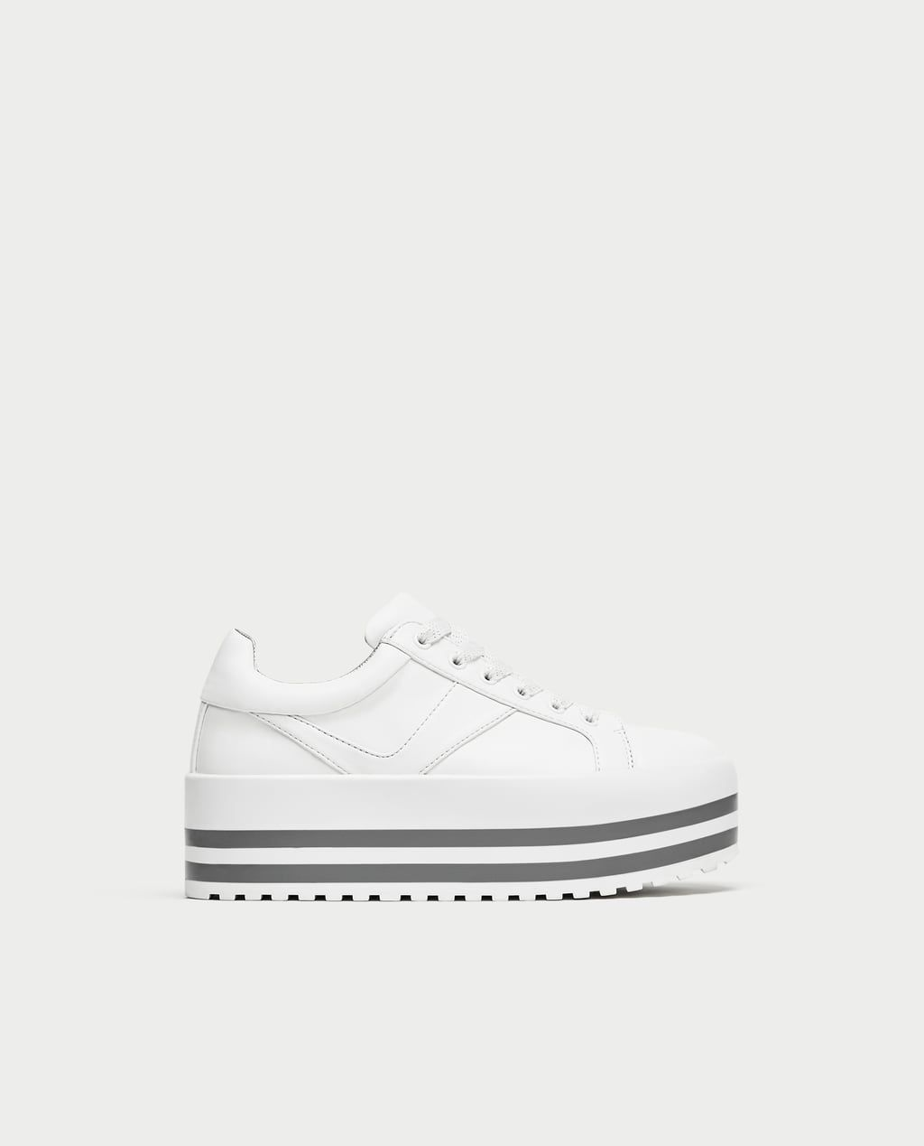 Image 2 of PLATFORM SNEAKERS from Zara  d3a7e15f667