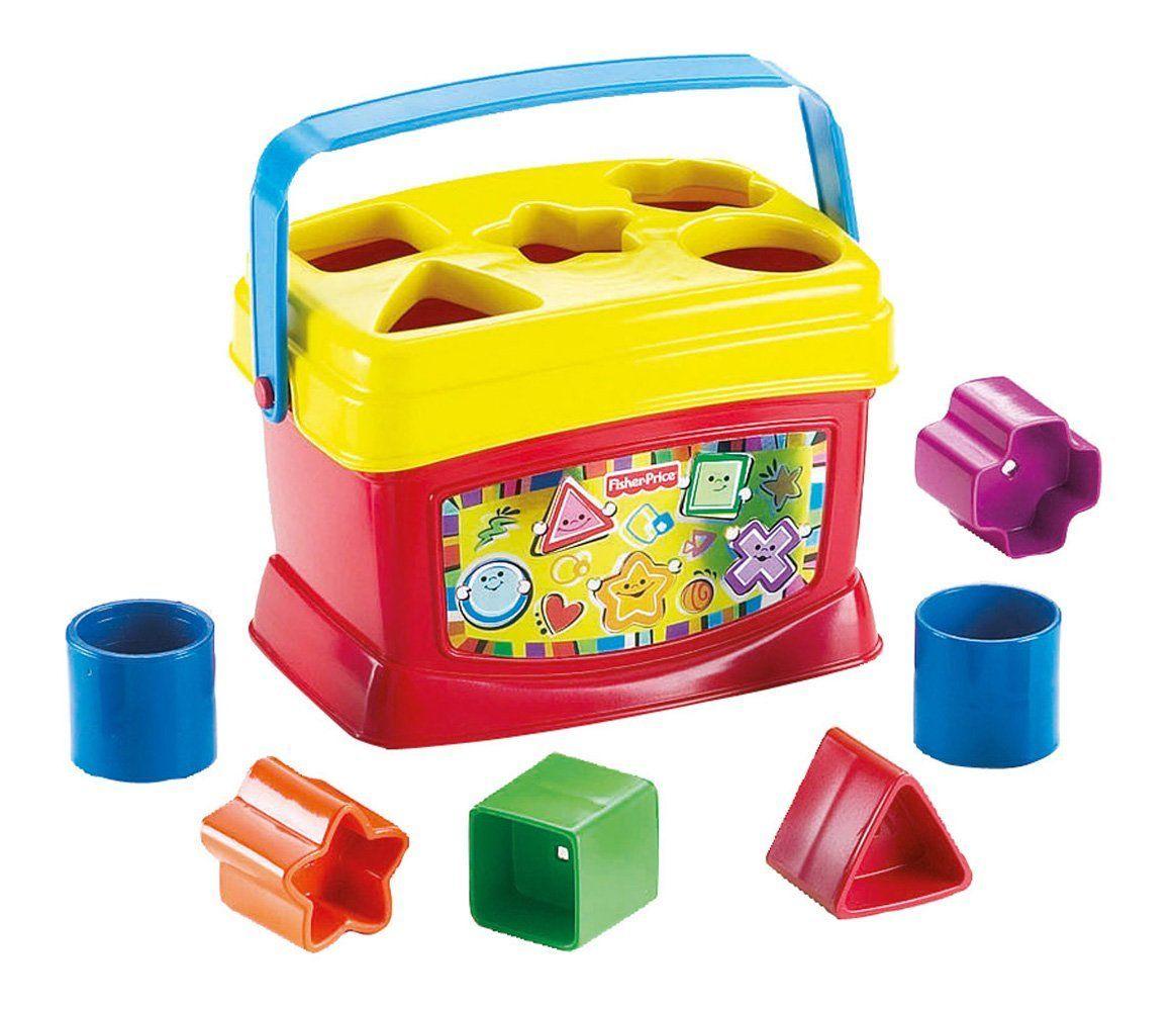 Fisher Price - Bloques Infantiles Con cubo transportable (Mattel 21-7167K)   Amazon.es  Juguetes y juegos ac6f865ecc4