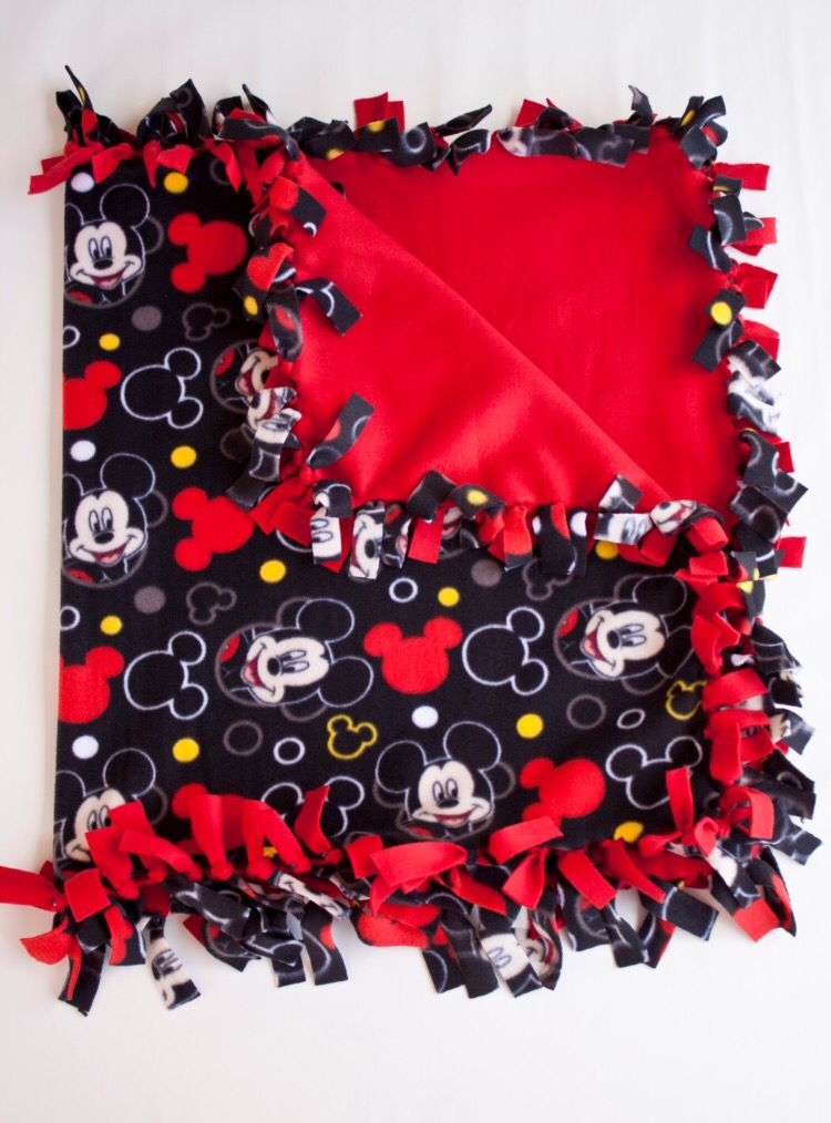 This Is My Hand Made Mickey Mouse Boy S Or Girls S Kids Fleece Reversible Disney Mickey Mouse Blan Mickey Mouse Quilt Mickey Mouse Blanket Mickey Mouse Nursery