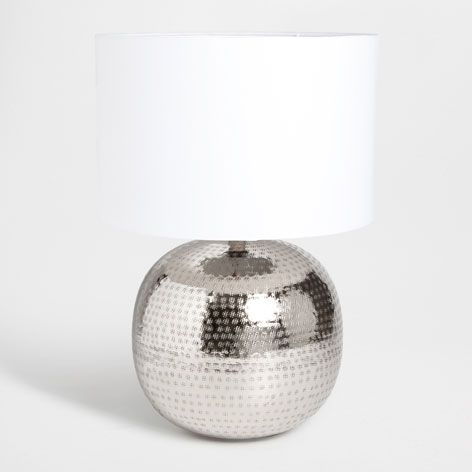 Metal Base Lamp Lamps Decoration Zara Home Finland