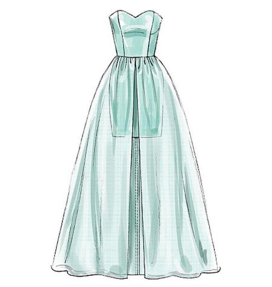 21+ photo élégante de modèles de couture robe de bal – figswoodfiredbist …- Easy Sewi …   – Kıyafet Çizimleri