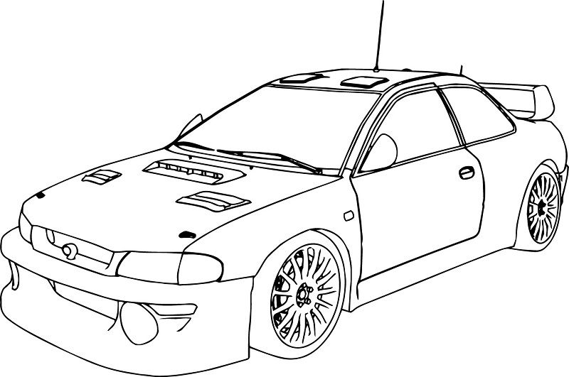 Cars Coloring Pages Simple Race Race Car Coloring Pages Cars