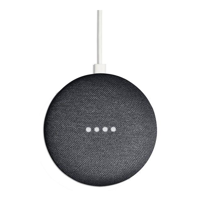 Altavoz inteligente Google Home Mini carbón (Reacondicionado a estrenar) #googlehomemini
