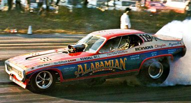 70s Funny Cars Alabamian Funny Car Drag Racing Drag Racing