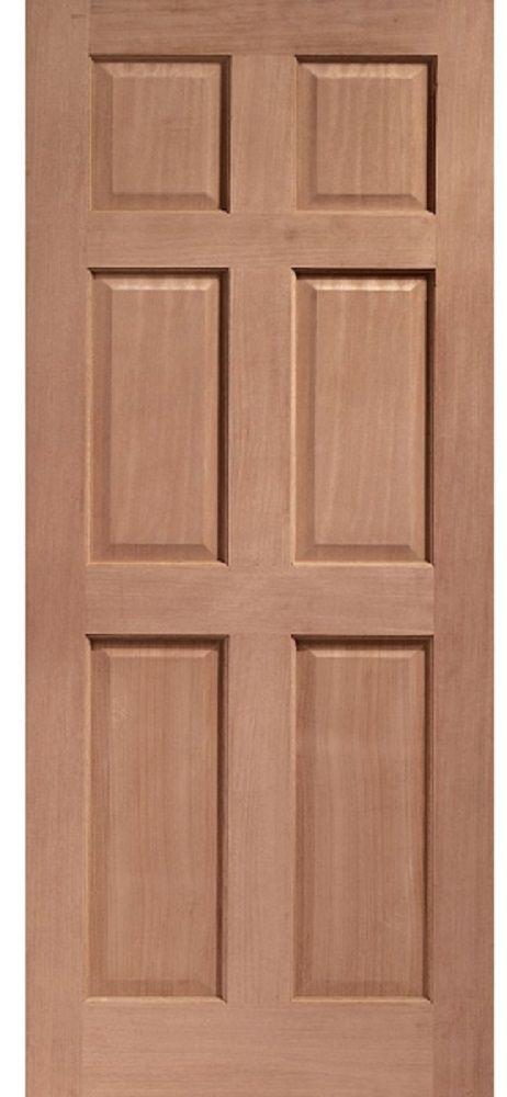 Leeds Doors Colonial Dowel Six Panel Hardwood 78x30 - external doors - hardwood - Colonial Dowel & Leeds Doors Colonial Dowel Six Panel Hardwood 78x30 - external ...