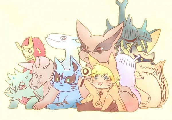 Cute Naruto and demons