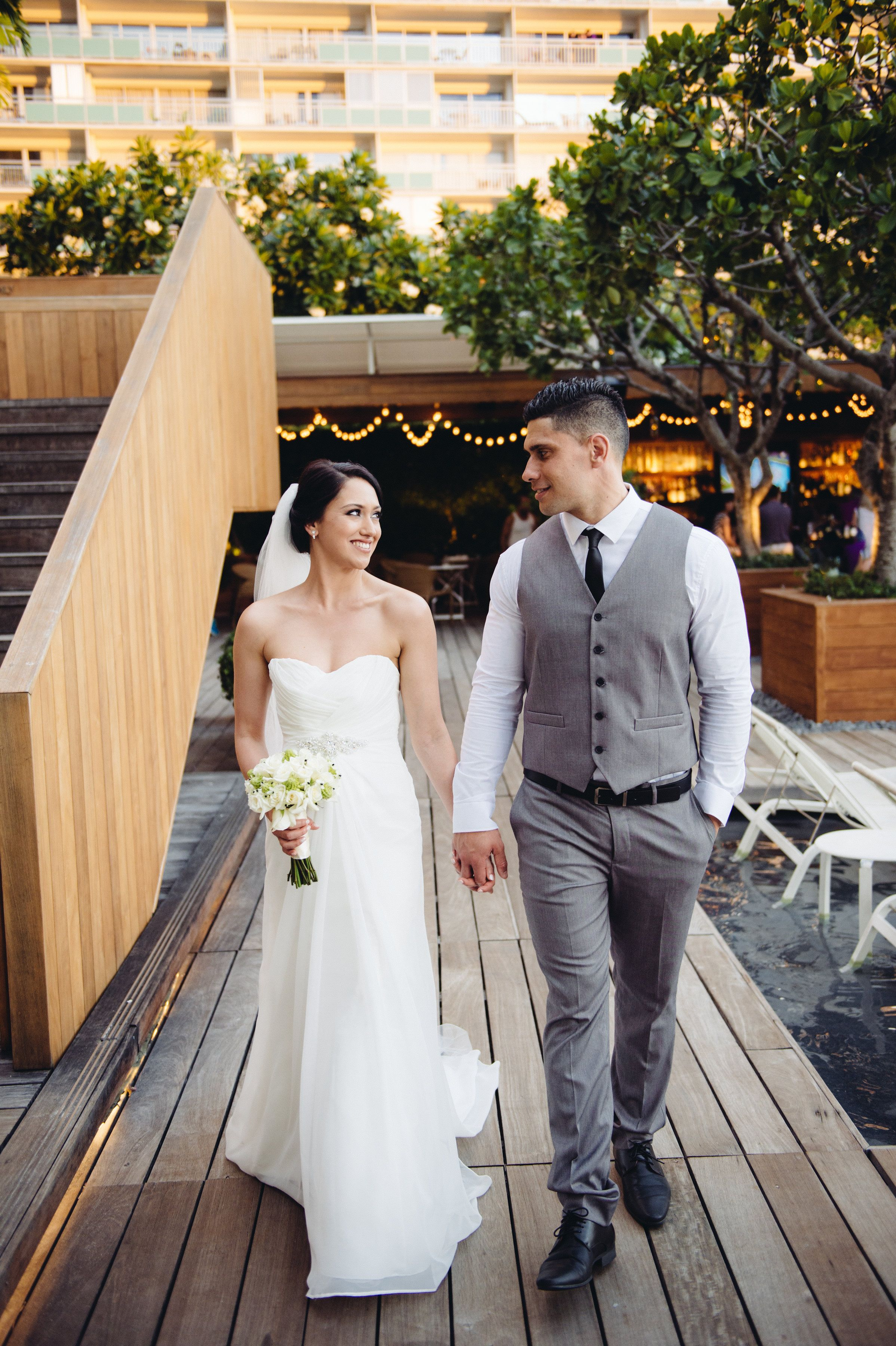 Hawaii wedding the modern honolulu waikiki bridal bouquet