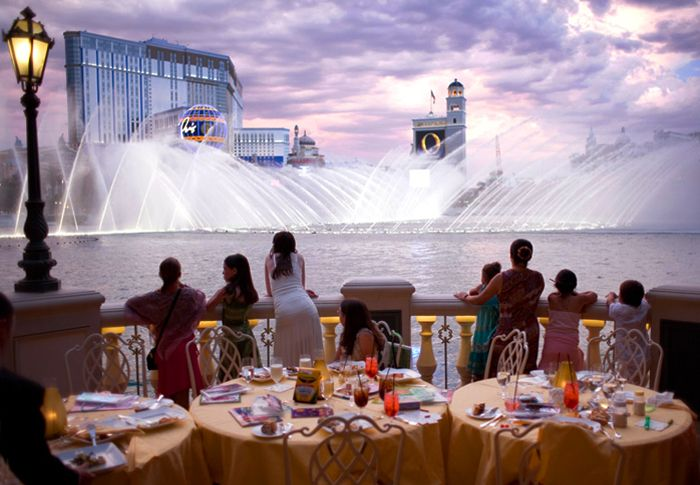 Picasso Restaurant At The Bellagio Hotel Las Vegas Nevada Usa