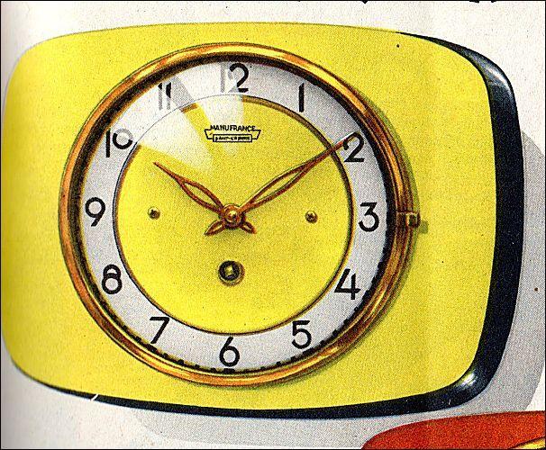 Pendule De Cuisine Pendule Vintage Pendule Pendule Horloge