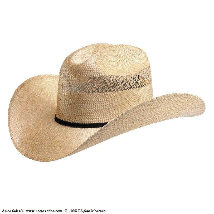 Sombrero Vaquero R-100X Filipino Western Hats e062ae5954d