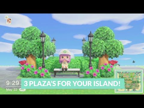 3 Plaza Areas You Can Add to Your Island Speedbuilds ...