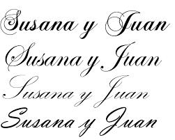 10 S letra cursiva