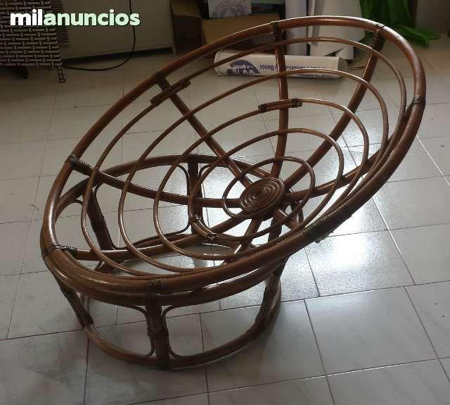 silln de bamb redondo partes dimetro de la cm