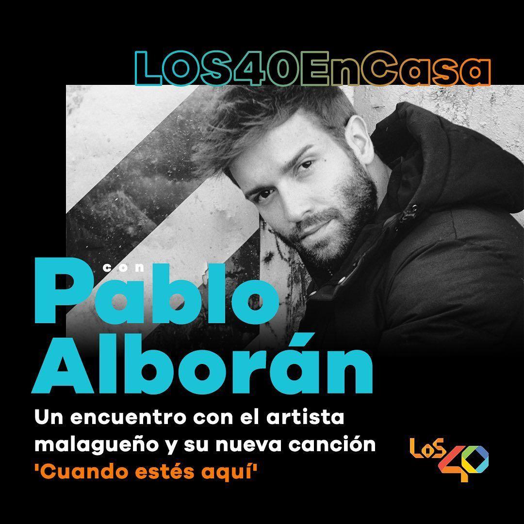 Pin De Gabriela Andrea Em Pablo Alboran Músico Mariana