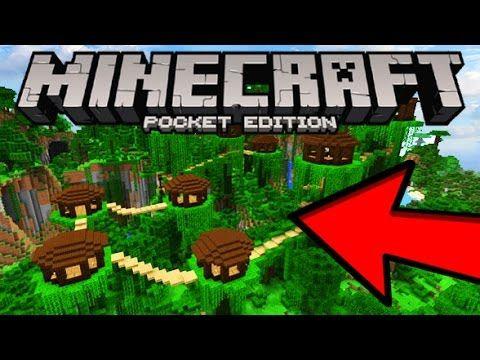 Mcpe Incredibe New Seed Insane Jungle Village Minecraft Pocket Edition Yout Minecraft Pocket Edition Minecraft Seeds Pocket Edition Cool Minecraft Seeds