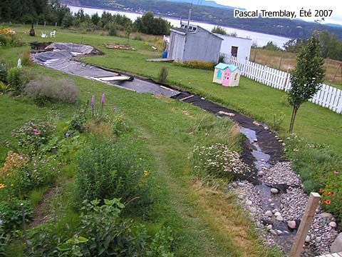 DIY Creek - How to Build a Creek. #pond #diy #gardening ...