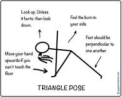 dos and donts for triangle pose  great for