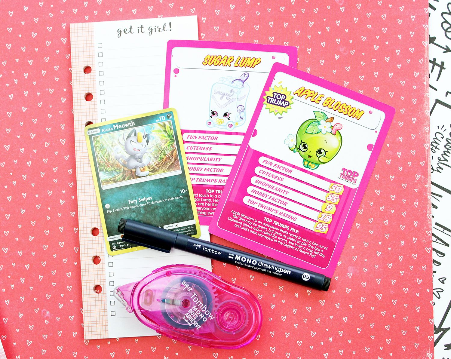 Friend trading card with free download tombow usa blog