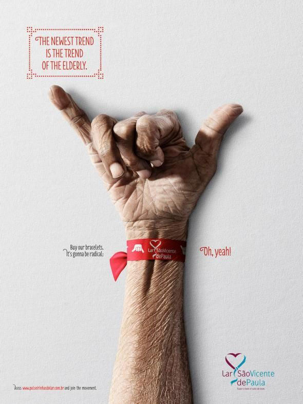 Lar São Vicente de Paula: The newest trend is the trend of elderly, 2 | Ads of the World™