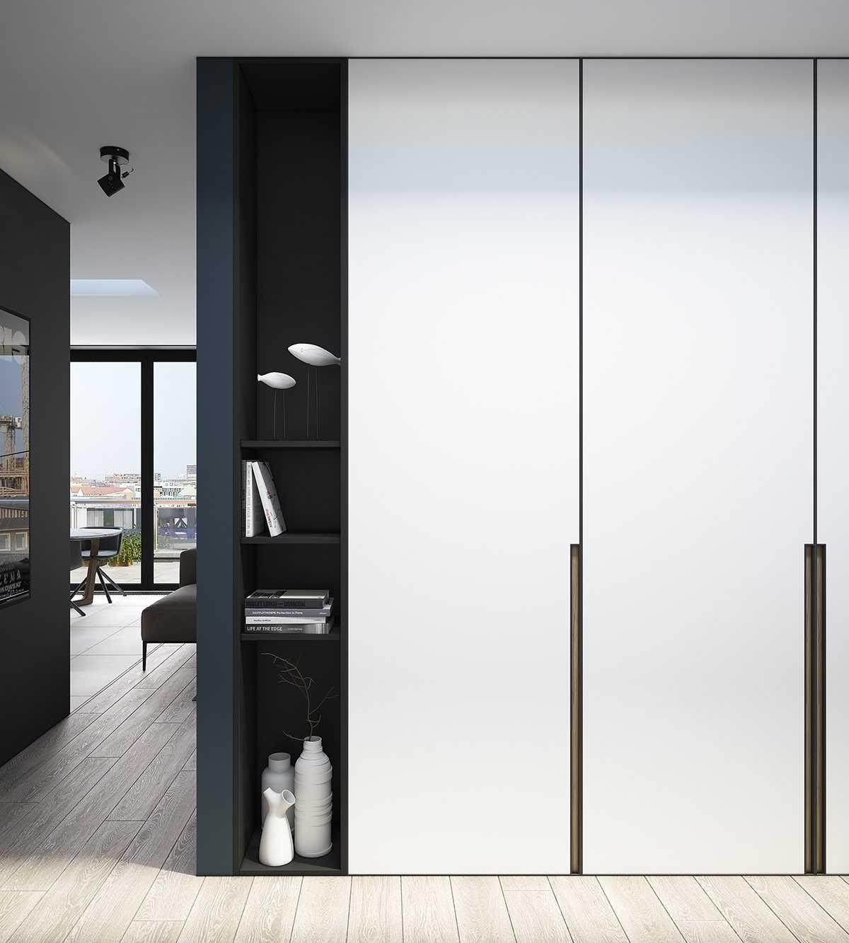 Дизайн шикарных современных пространств с кирпичными стенами ...
