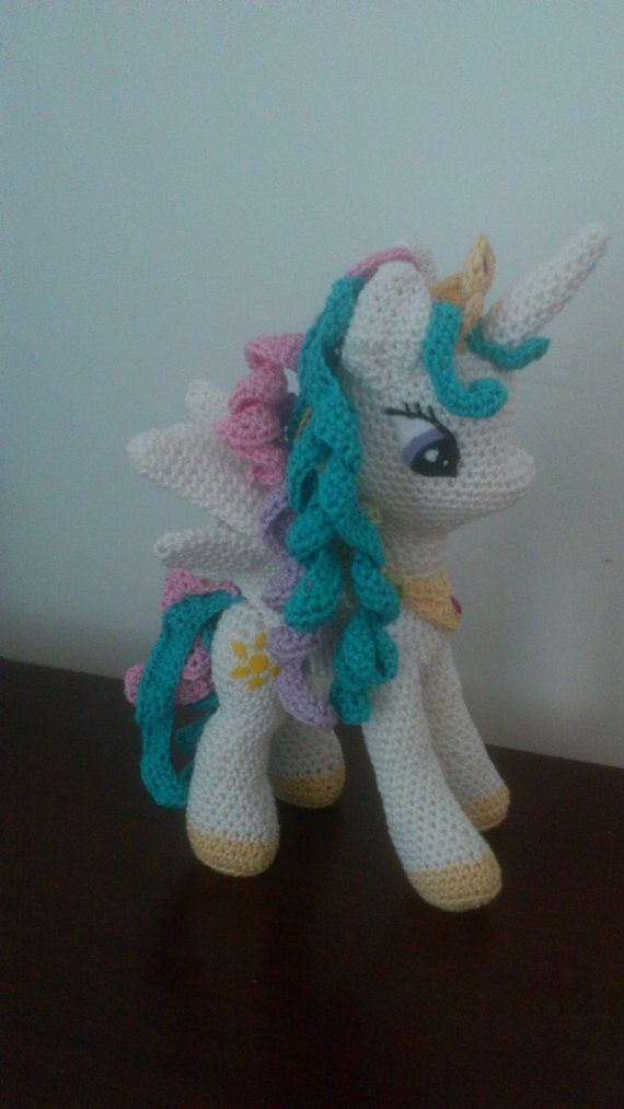 Amigurumi \'My Little Pony\' crochet plushie by PreciousBySarah ...