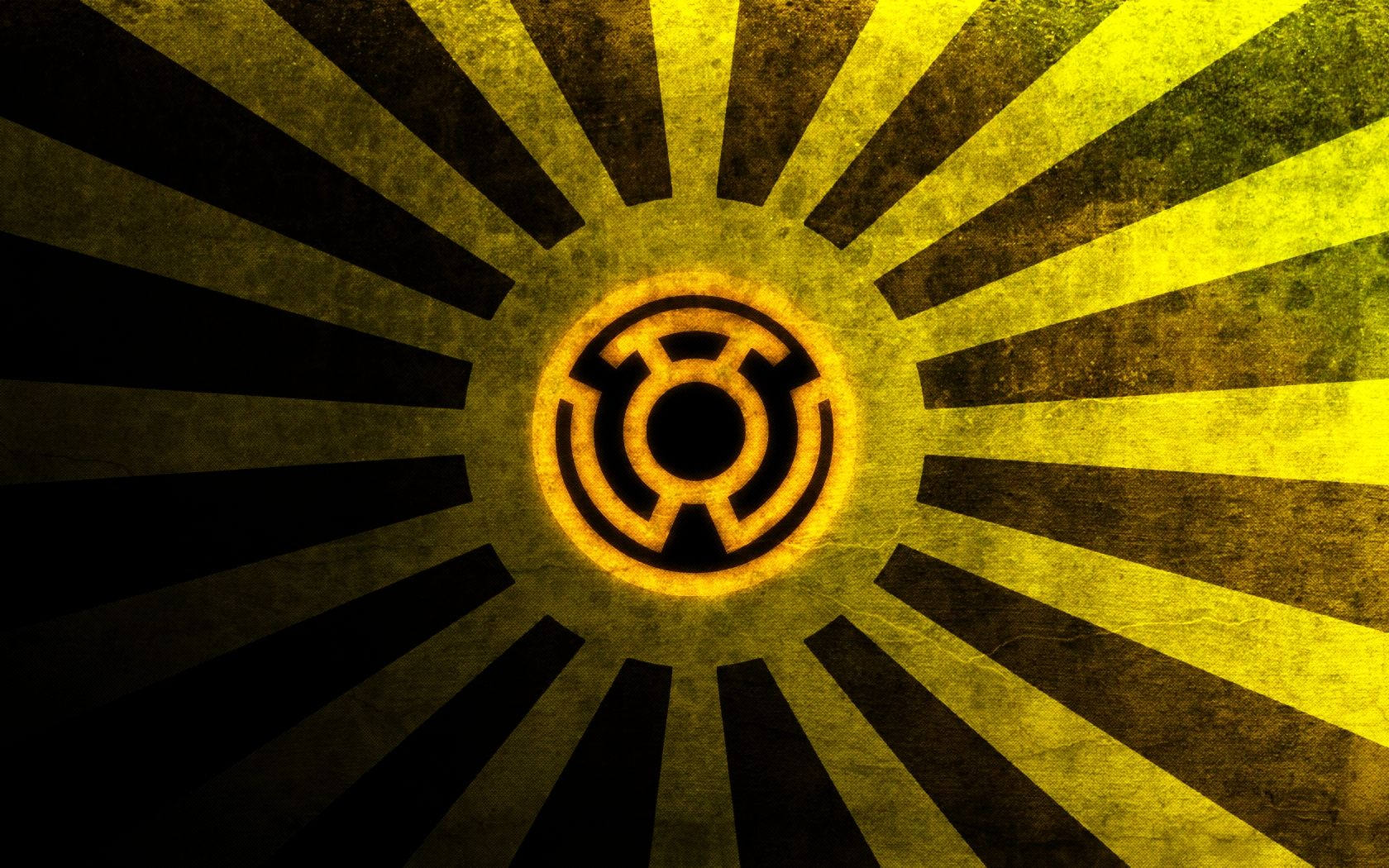 yellow lantern oath - HD 1680×1050