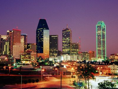Dallas City I Went There A Couple Of Summers Ago Its So Pretty To See The Lights At Dark Time Dallas Skyline City Skyline Skyline