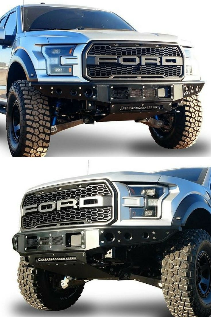 Lex 2017 Ford Raptor Assault Bumper Combined Features Of High Clearance Design And The Slimmest Look On 2017 F Ford Raptor Ford Raptor 2017 Ford Raptor Lifted