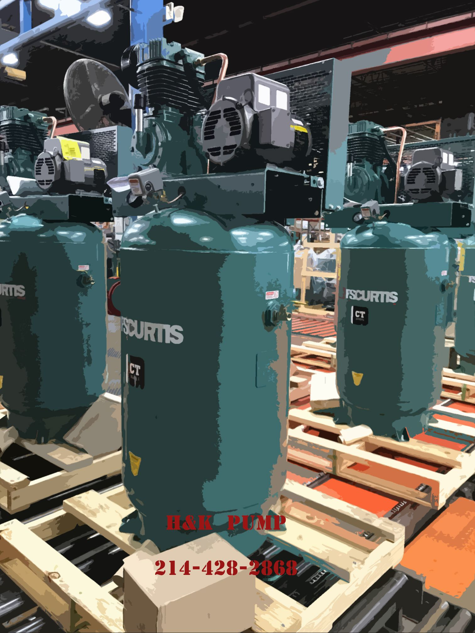 FSCurtis Compressors ready for service. Curtis is the