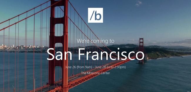 Microsoft anuncia su evento Build 2013 en San Francisco  http://www.genbeta.com/p/75307