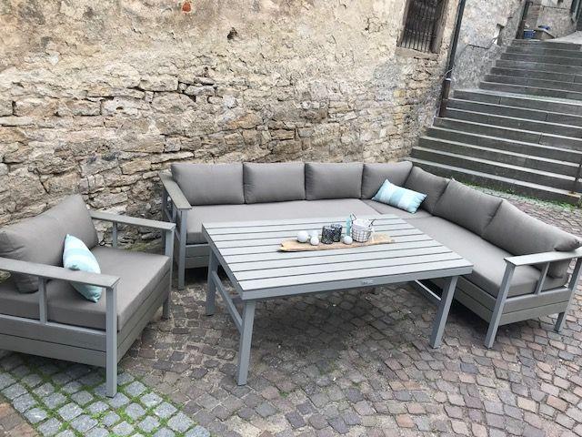 Essgruppe Lounge Dream Diningset 4 Teilig Alu Taupe Polywood Haben Sie Auch Einen Traum Von Lounge Mobel Balkon Lounge Mobel Terasse Outdoor Lounge Mobel