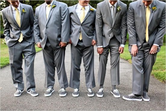 I Think As The Groomsmen Gifts They Ll All Get New Vans To Wear